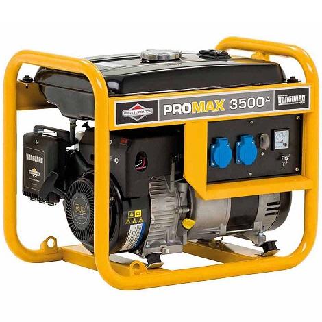 Генератор бензинов ProMax 3500A - 3.4KVA - 2.7kW